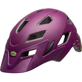 Bell Sidetrack Helmet Youth matte/gloss plum pear